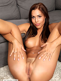 Inveigled : Satin is a big breasted latin babe with a perfectly shaped butt and a cute looking face. This long haired brunette will make you going crazy.