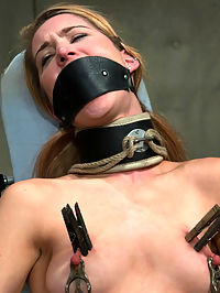 CLASSIC SHOOT! Calico Sex Addict! Can she be cured? Why would we want that? : Classic bonus update today from 2008...With this weeks update we do a little role play. Calico comes back to Hogtied as a sex addict who has checked herself into the clinic to cure herself of her sex addition. Sequestered in the Padded Cell, the Doctor and his orderly put her through some serious orgasms to see if we could drain her to the point of never wanting another one. You will just have to see what happens! If you ever had that fantasy of being taken advantage of by your doctor or nurse when in the hospital, this is the update for you!