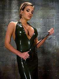 Latex Accent : Gorgeous and exotic dominant females are a rare find, and slave boy Rico is a lucky bastard to get the chance to grovel under this womans high heels.Full, round tits and a beautiful ass are the rewards for enduring a humiliating ass fucking and being beaten like a little bitch. Whatever the cost, she knows he will pay to feel her sting.