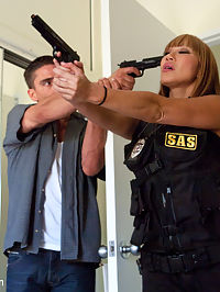 The Big Bust 2 Drug Lords Take Revenge : Sex and Submission is proud to present another featured shoot with storyline and high production value! Ava Devine and Sara Jay just want to be treated and respected like one of the guys at the station, but they are constantly catching ridicule from their peers. When a new assignment comes up involving dangerous criminals, they go against the captains orders in hopes of proving that theyre capable of getting the job done on their own. Watch what happens when these two special tactical officers attempt to bust three ruthless drug lords and get captured! Includes rough sexy orgy, double anal and double vaginal penetration, role play, internal anal and vaginal cum shots, bondage sex and giant tits!