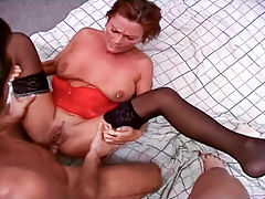MovieRoom presents Mixed Up Amateurs Vol 3 - Amateur Anal Fucking : Amateurs sluts making their mark on the porn scene with their amazing fucking ability! Caroline is bend over as a cock is shoved deep inside her gaping ass!