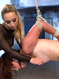 Built For Punishment : Sometimes a new girl will come through the Armory doors that seems to be built for punishment and hot lesbian fetish sex. Your sub this week is the epitome of that, welcome Jodi Taylor to Whipped Ass! First time ever being in bondage! First time EVER being fucked in the ass! Cute as a button and she does this all for your viewing pleasure. Jodi receives pussy punishment, whipping, clothes pins, lesbian bondage and much more and loves it all!! And, we love her!!!