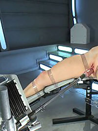 Bondage and Orgasms Athletic Ginger Babe Machine Fucked in Rope : Ami Emerson looks good tied up and she even better tied up and fucked. The machines leave no orgasm behind as Ami takes a punishing from the relentless thrust of cold steel beasts. Ami isnt the kind to lay around and get fucked so she must be tied up in inescapable rope that also allows her to squirm and resist, making her orgasms all the more intense. Its like watching her wrestle with her own pussy.