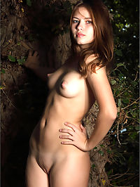 Jenna Naked in the Forest