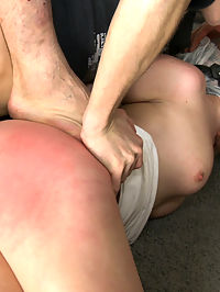Triple Penetration! Double Anal! Russian Beauty with Gaping Butthole!! : Russian babe Rita plays the victim in this fantasy role play home invasion update! Double anal, double vag, triple penetration, sensory deprivation, bondage, fisting, squirting, and hardcore gangbang action!