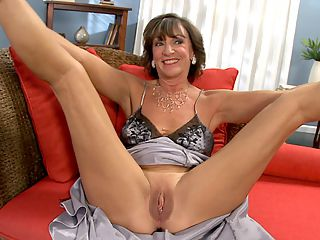 Getting to know Sydni Lane : Having shown off her beautiful body and sucking and fucking a much-younger studs big cock for the first time on-camera, 61-year-old Sydni Lane sits down for an interview with the 60PlusMILFs.com editor. Shes looking smashing in a long, flowing nightgown that hugs her thin, curvy body, and she sounds great, too. Sydni always seems to be smiling, and her engaging, friendly personality comes through at all times.br br Among the highlights of this interviewbr br 1. Sydni showing off her pretty feet and telling us how she gives foot jobs.br 2. Sydni talking about how, about five years ago, she decided to add some excitement to her life. She became a nudist and a swinger. She started doing wilder things sexually. And, of course, she decided to pay a visit to 60PlusMILFs.com.br 3. Sydni showing her woman-next-door side by using proper terms for pussy, ass and cock.br 4. Sydni talking about her wildest swinging adventure.br 5. And, finally, Sydni showing off her flexibility by spreading her legs so we get a final view of her shaved pussy.br br We have a very good feeling that Sydni is about to become one of your favorites at 60PlusMILFs.com. Enjoy.