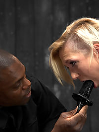 Maia Davis vs Jack Hammer : Beautiful blonde Maia gets to learn what her limits are with Jack at the helm. Each position tests her and makes her realize that Device is no joke. In scene one, she is encased in latex legs Indian style, strapped to a reclining board. Her anxiety is ramped up with the corset on. She feels like she is being smothered. Every sensation is heightened as its laced with fear. Jack soaks it up and revels in her discomfort. Scene two, she is challenged with an unforgiving forward bend in metal. Jack goes after her calves with the crop. She caves. He smiles. In the final position she gets to learn how cruel leather straps can be. She is attached to the violet wand via the grounding pad. Every time Jack touches her its electrifying. The princess melts with pleasure at his touch and earns orgasms worthy of her suffering.