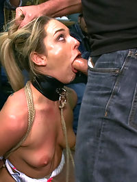 Tiny Blonde Fucked in a Biker Bar and Used as Human Ashtray : Bailey Blue is gets dragged into a biker var by Mark Davis and Princess Donna where she is ass fucked, dped with pool sticks, used as a human ashtray, degraded, fisted, and made to cum uncontrollably!