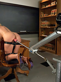 Luscious GIANT Breasts Tied, Clamped, Fucked and Oiled UP : Go ahead, shove your face onto your monitor and pretend you are right up in those huge tits. Courtney Taylor is just a treat - loud, hot orgasms and beautiful breasts that she lets us do what ever we want to. So we oil them up, press them in your face, fuck them, tie, clamp, and watch them bounce with the pounding of the machines. A great shoot from a great girl who loves to shag.
