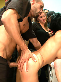 Party Girl : Beretta James becomes the life of the party as she is stripped, humiliated and fucked for everyone to see.