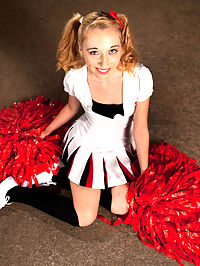 Pom Pom Girl gets Gang Banged by Basketball Coach and Team : When Emma Haizes coach finds out that she has done porn, he demands she meet him in the basement that night unless she wants the whole academy to find out. When she enters the basement she finds a note with instructions, and patiently waits for the coach to arrive. Little does she know its not just the coach she is meeting in the basement, but the coach and half the basketball team! Before she knows it she is sucking 5 dicks, getting fucked in all her holes, suspended in the air, double penetrated, and covered in cum!
