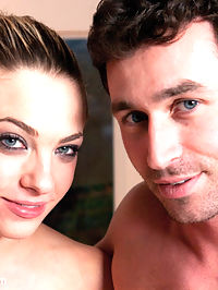 Birthday Girl Bailey Blue gets Destroyed! : New girl Bailey Blue does an incredibly hot and hardcore scene with James Deen in this awesomely intense update! A true fantasy of hers come to life as she is suddenly hooded, taken down and used like a piece of meat. Her mouth, pussy and ass get worked over hard and rough. She gets suspended twenty plus feet in the air then lowered to be fucked while heavy clamps pull down on her nipples. This girl is super tough and takes all the extreme punishment James dishes out! Then, in his kitchen she gets destroyed with an extreme mouth gag, anal sex and water breath play consisting of dunking her head in the sink while being fucked from behind. Talk about sensory overload! By now the sun is starting to set and Bailey is tied down spread out, mouth and pussy are clamped shut. James only wants to fuck one hole now and blow a load all over her used up helpless body. But she came multiple times throughout the day and is feeling completely exhausted and satisfied!