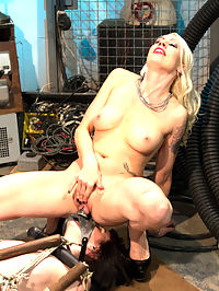 Lesbian Programming : Welcome local model Coral Aorta to Whipped Ass. Coral enjoys pain and likes to be challenged by bondage and punishment. Lorelei Lee treats her like nothing but a piece of meat with three holes to fill. Will she train this local slut into the perfect lesbian fuck hole? Interesting bondage, nipple clamps, whipping, spanking, caning, dildo gag, butt plug, lesbian strap-on sex and fisting are all included!