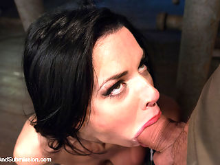The Lonely Housewife : Veronica Avluv makes her debut at Sex and Submission in this incredibly hot fantasy role-play updated! A beautiful housewife desperate for attention from her preoccupied husband, ventures out alone into the night and meets a stranger who gives her the sexual excitement she craves. Veronica melts under the skillful and dominant hands of Mark Davis. Completely helpless in tight bondage, her mouth, pussy and asshole are relentlessly fucked! She becomes an orgasmic mess and squirts uncontrollably from merciless pounding in the final scene! A must see!