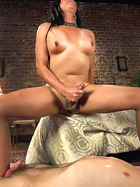 The Queen is BACK Vaniity in a Mixed POVregular V shoot taking Prey : You cant handle the Queen says Vaniity as she looks right into the lens and right out at you. This shoot is a showcase of Vaniitys talents as a Dom. She starts off slow and seducing, quickly turning her man on to the point of no return. Then she pounces with her rock hard missile of a cock that is unrelenting. The new guy and his virgin ass have no escape and her rips her stockings as he grips and bears her penetrating him. Every inch of her cock is a struggle for him and eventually he taps out. She is right, you cant handle the Queen. Vaniity milks a huge load of cum out of Vance and then turns to you in a POV pop shot finish that only Vaniity can do. She makes you feel small and hard from a million miles away.
