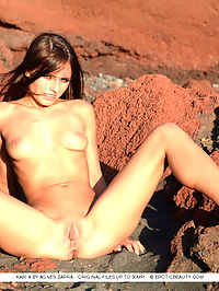Presenting Kari : Karis outdoor debut with her perfectly tanned complexion, athletic build, and tight, luscious assets.