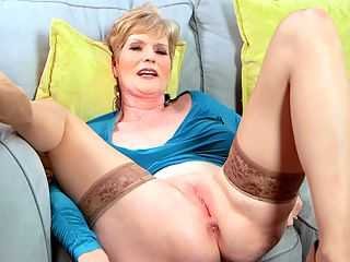 Sindee talks, but its her pussy thatll grab your attention : There are a lot of things youll find out about 52-year-old Sindee Dix in this interview. Youll find out that shes a wife. Youll find out that she has a hall pass from her husband to go out and fuck other men. Youll find out about the wildest sexual experience shes ever had it took place on a cruise ship during a swingers cruise. Youll find out all about her D-cup tits and how much she loves showing them off. Youll find out that shes a MILF in a somewhat different way.br br All that is important. Finding out about these things will enhance your appreciation of this first-timer as she goes about the adventure of sucking and fucking on-camera for the first time.br br But heres something you might want to know before you hit the play button, and were only telling you this to prepare you. You might want to get comfortable. You might want to keep handy, so to speak, a way to clean up afterwards.br br Thats because Sindees beautiful pussy and fuckable asshole are on display for most of this interview. So, yeah, theres a lot of talking going on. But just in case, you need to keep the volume down low, maybe to keep from disturbing anyone at home who might be sleeping? This video interview is a visual feast, too.br br And Sindee has beautiful holes.