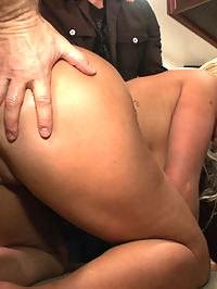 Hot Blonde Girl gets Disgraced at a house Party : Laela Pryce is a hot new blonde bitch that gets tied up, humiliated, and fucked at a house party to entertain the guests!
