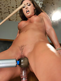 FUCKINGMACHINES CLASSIC Squirting Damsel Machine Fucked in Bondage : A FuckingMachines.com classic archive update with the super sexy star of soft core and hardcore porn,Melissa Jacobs. Melissa Jacobs is the Polly Anna of porn. She sweet and up for anything, impressed by her pussys ability to reload and squirt and cum repeatedly and even shocked by her clits ever hunger for more rolling, climaxing, orgasms. She even jerks off in the end interview for us. She sweats, she cums, she laughs and continues on no matter what we do to her - the ruler attached to a machine slapping her tits, the custom saw fucking her relentlessly, the rope pulling on her arms and legs while she holds on and cums again. All of it is a spectacle of the power of the pussy. It is women like Melissa who make us grateful for electricity.