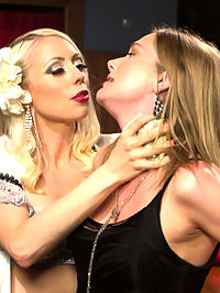 The Lounge Singer And The Thieving Waitress : In this sexy roleplay update Lorelei Lee plays a lounge singer who teaches a thieving waitress a lesson for stealing tips from her and the bartender! Lesbian BDSM with spanking, finger banging, pussy licking, strap-on fucking, butt plug, caning, humiliation and pussy torture are all included.