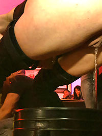HUGE TITTED Ava Devine does DOUBLE ANAL in a bar full of STRANGERS!! : Ava Devine proves she is the FILTHIEST PUBLIC WHORE by submitting to a bar full of strangers. Princess Donna and Mark Davis wield their FISTS OF GLORY as they give her the most intense ASS POUNDING of her life. This shoot has it all DOUBLE PENETRATION, ANAL FISTING, GANGBANG style COCK SUCKING, huge STRAP ON ACTION, and to top it all off, PUBLIC DOUBLE ANAL!!!!!!!!!