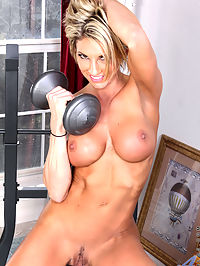 Anilos.com Lexussmith - Weightlifter milf babe toning her hot body : Weightlifter milf babe toning her hot body