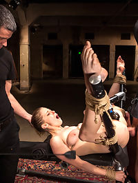 The Training of an Anal Slut, Final Day : I the TaskI am all for teaching a trainee about humility and dignity in manual labor, but four days of bagging this filthy hay is taking its toll. She really needs to finish cleaning up this old barn set. This hay hangs in the air, it smells like shit and it is really unpleasant for the crew, me, and the slave slut trainee. I put a mask on her and tell her to hurry the fuck up while I whip her ass for motivation.II Shaving that PussyShe is filthy and she stinks like horse shit. I drag her ass to the shower, and prepare to hose her off. I plan to teach her a few details about positions, like how to press the mound of of her cunt up into the air for a hand or a whip. When I reach down to grab a handful of that sexy mons pubis, I am shocked to find, what...stubble! What kind of slave shows up on graduation day with an unshaven pussy! I loose my shit, but manage to teach her a lesson on the value of a well groomed cunt that she will not soon forget.III Sloppy Face FuckWhen it come to sex, I usually need to see the slave girl doing the work. But not always. Sometimes I like to tie them down and see them pummeled mercilessly into sexual delirium. To wit, Paxs face fucking.IV Anal OrgasmsWhat better way to finish an anal sluts training than to present her ass and pound her slutty asshole with a huge hard cock while vibrating her twitching little twat into multiple convulsive orgasms. Well done Pax. Now tell us, what did you learn this week?This update contains erotic manual labor, filthy slave girl discipline, slave shower, pussy shaving in chain bondage, erotic humiliation, sloppy face fucking, drooling blow job, anal orgasms in bondage, anal bondage, ass fucking the slave slut, anal slave training.