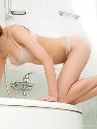 Nubiles.net Emily Kaye - Nubile Emily Kaye slides off her panties and masturbates in the bath : Nubile Emily Kaye slides off her panties and masturbates in the bath