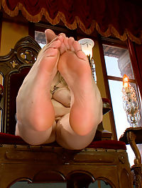 FemDom Foot Fetish POV : Bonus POV update for all of the dirty foot sluts out there that yearn to be under the foot of a tough sexy woman! Youre nothing but a dirty little foot worm made to lick the sweat from between Goddess Aiden Starrs toes! Shell instruct you just how to stroke your cock and if and when you are ever allowed to blow your filthy load all over her sweaty feet!
