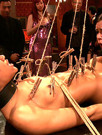 Porn Star Anal Orgy : When gorgeous porn starlet Natile Moore comes to an Upper Floor party, she inspires a full fledged orgy. While Mogul tries to keep the service on track, the guests demand more and more sex from the house slaves and soon enough there is more fucking and sucking going on than tray service.