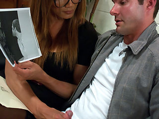 YASMIN LEE RETURNS TO TSSEDUCTION.COM : If you want to watch Yasmin Lee fuck guys to the edge of their pain tolerance with her MASSIVE cock and unbelievably smoking hoooootttt body that convinces the guys to take her cock just a little longer, then sign up! After nearly two years away from filming, Yasmin looks just as timelessly hot as before and fucks just as hard core as ever. She whoops her little horny man slut with her thick cock and the cums a load so big it spills out of his mouth and all over her belly. Dont worry, though, Yasmin still feeds him every drop of her load and his own. The Queen is back and its great.