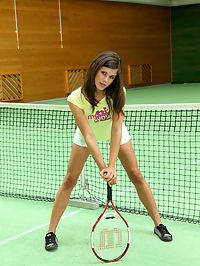 Cause a Racquet : Cause a Racquet featuring Little Caprice by Als Photographer