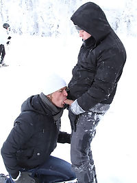 Anal On The Slopes! -2 : skiing lessons with a cute boy i know. He said that all he needed was an hour to teach my friend how to skate. needless to say that my friend, the ski instructor is a not a very good teacher. But he is good at sucking a dick