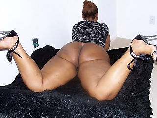 African big ass ebony
