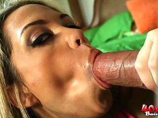 Luscious and Curvy Latina Jenny fucks a couple gangsters