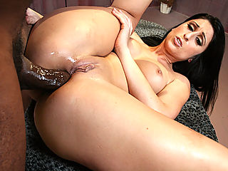 Latina cavegirl bends over and gets ass fucked mercilessly
