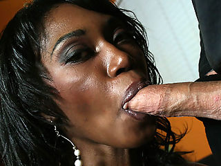 Curvey ebony Delotta bounces her huge ass on a big cock