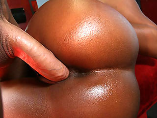 Big booty black girl Rane bounces her huge ass on a big cock
