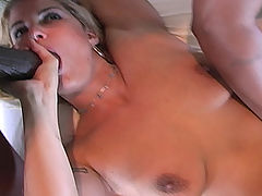 Autumn Haze interracial anal gangbang, DP