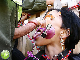 Dirty MILF getting humiliated by a super mean cock!