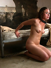 Russian Mail Order Bride Locked in Basement and Used as Sex Slave for her Husband and all his Friends : In this fantasy role play update Sasha Swift plays a Russian mail order bride that dreams of coming to America for a better life with a rich husband. Unfortunately for her, her new husband locks her in the basement by a chain around her throat and turns her into a sex slave for him and his friends.