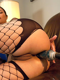 Her Ass is Swallowing UP some serious Machine Cock : Dana Vespoli brings her fine ass to FuckingMachines.com. Her perfect pear shaped ass is enough to change any Boob guy into an Ass man. The machines find Danas sweet spot deep inside and make her cum over and over. At first, Dana kind of giggles and doesnt really believe the machines are going to send her into cum space, but as soon as Thor is turned on inside her ass, she purrs and then she moans and then...well, there is no turning back.
