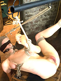 Iona Grace - Complete Edited Live Show : In scene one she endures a brutal push up position back arch with a harsh breast bondage predicament. If she lets go with her hands, she is supported with her breasts, and if that is not uncomfortable enough, an anal hook is attached to her neck, so if she relies on the breast bondage, she chokes herself HOT.Second, Iona gets subjected to a seemingly easy cross legged predicament, but its not easy for long. The cane and rubber bands come out laying stripes down her leg and tormenting her foot. She is suspended upside down where Mz Berlin fists her and Claire changes her bondage into a strappado back arch.Finally, Iona is bound with arms in strappado laying on a box with her legs in the air like a good whore. Mz Berlin pounds her cunt mercilessly with a strap on while Claire creates sadistic torments for Iona, distracting her from the pleasure. All for YOU and ALL LIVE!