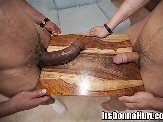 Castros cock destroys this young boys asshole.