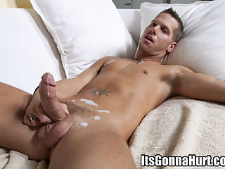 Young stud takes a cock his ass cant handle