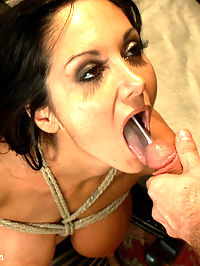 The Secret Desires of Ava Addams : Gorgeous model Ava Addams has her spectacular debut at Sex and Submission where she completely surrenders to intense sexual domination, deep anal penetration and bondage sex!