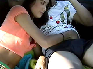 nikki sucks cock at a picnic