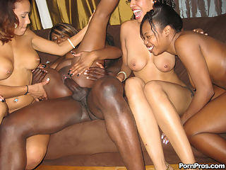 Watch these juicy black sluts fuck wild