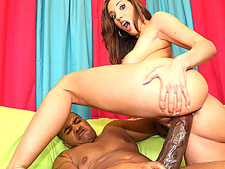 Hot slut with stallion ass gets the fuck of her life when she meets the O.G. cock monster