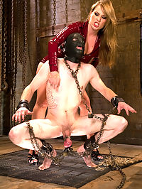 Objectification : If Harmony Rose wants a hard dick Harmony Rose is going to get a hard dick. She doesnt care what its attached to nor does she care if you get any pleasure at all! Harmony uses Kade like a real piece of meat. Covering his face with a hood and humiliating him. Strap-on fucking him from behind with his head secured in a box. Of course Kade the fuck whore still gets nice and hard through all the objectification and pain. Mistress Harmony takes what she wants and leaves him breathless. After being used and abused does Kade finally get a release? Thats up to Harmony to determine! Strap-on ass fucking, objectification, and tease and denial are included in this hot update!